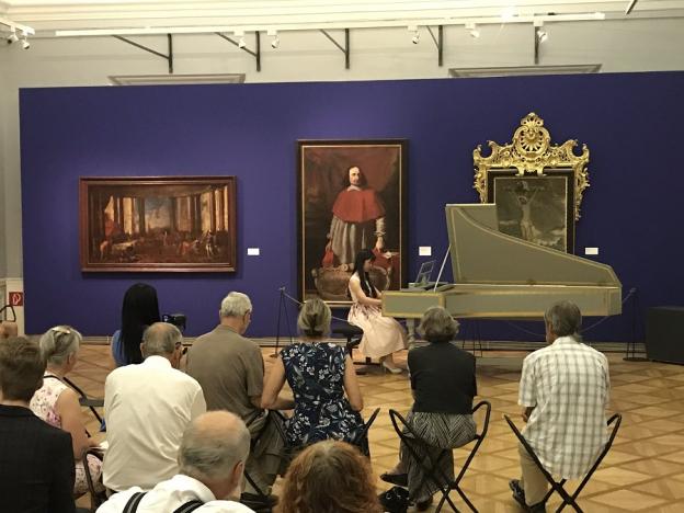 Residenzgalerie,  zu Gast bei Johann Sebastian Bach
