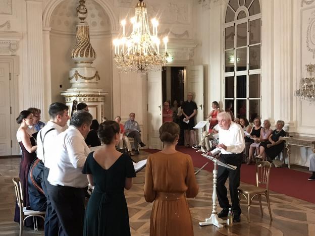 Weißer Saal, zu Gast bei Fürsterzbischof Paris Graf von Lodron