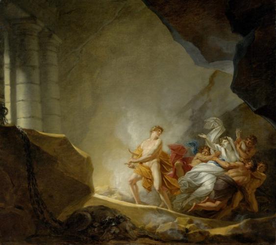 Heinrich Friedrich Füger (1751–1818), Orpheus holt Eurydike aus der Unterwelt, vor 1808, RGS, Inv.-Nr. 485, © 2020 RGS/Ghezzi