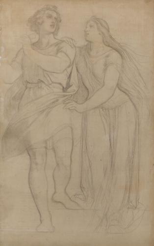 Moritz von Schwind (1804–1871), Tamino und Pamina, um 1864, RGS, Inv.-Nr. 181, © 2020 RGS/Ghezzi