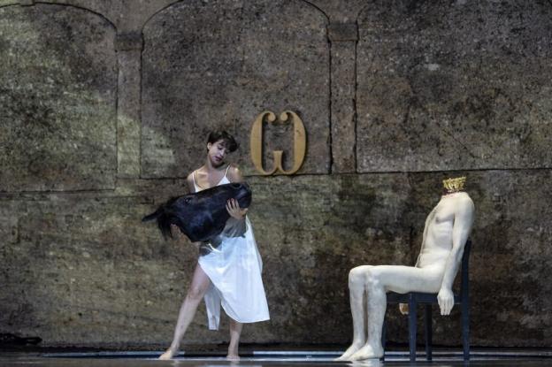 Richard Strauss (1864–1949), Salome, 2018, Salome (Asmik Grigorian), © Salzburger Festspiele/Ruth Walz