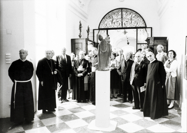 Opening of the exhibition Salzburg pilgrimages in cult and custom, 1986