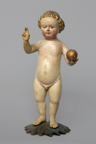 Christ Child, 1430/1460, Salzburg, painted wood, inv.no. KAT 42, © Dommuseum, J. Kral