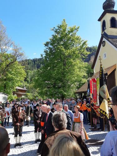 Prominente Gäste zur feierlichen Eröffnung des Bergbau- und Gotikmuseums in Leogang © 2019 AD/RGS/DQ