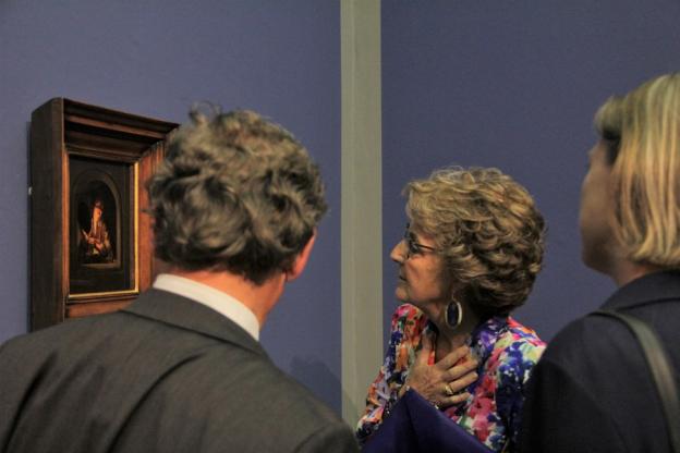 """Prinzessin Margriet der Niederlande besichtigt die Ausstellung """"Goldene Zeiten"""""""