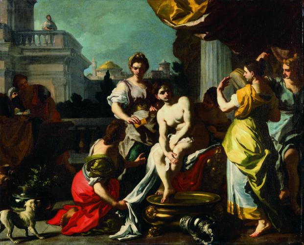 Francesco Solimena, Bathseba im Bade, Öl/Leinwand, 103 x 128,4 cm, Inv. Nr. 197 © RGS/Ghezzi