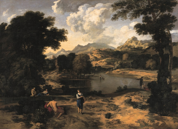 Gaspard Dughet, Heroische Landschaft mit Figuren, Öl/Leinwand, 111,5 x 153 cm, Inv. Nr. 225 © RGS/Ghezzi