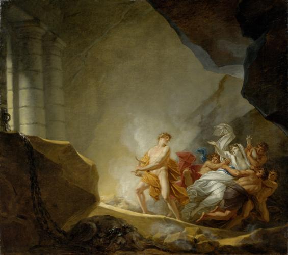H.I. Füger, Orpheus und Eurydike © RGS/Ghezzi