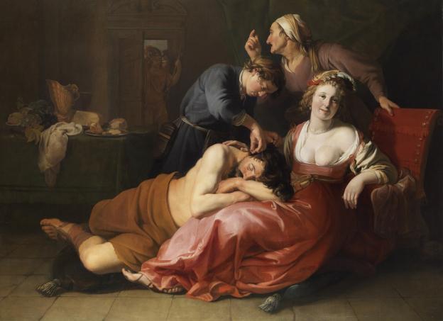 Hendrick Bloemaert, Samson und Dalila © Gemäldegalerie der Akademie der bildenden Künste, Wien, Inv.-Nr. GG-1301
