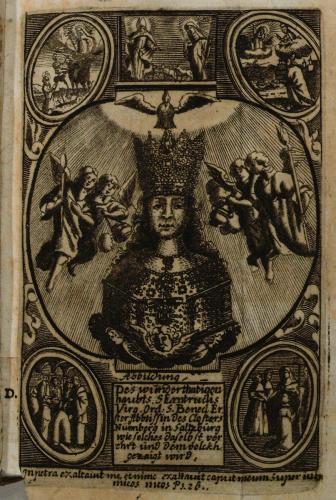 Prokop von Templin (1609-1680), Tugend-Spiegel Aller Zucht-liebenden Closter-Jungfrauen, Sulzbach, 1679 © AES/P. Rohrmoser