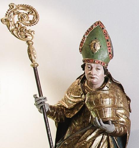 Hl. Rupert mit dem Salzfass, Dommuseum