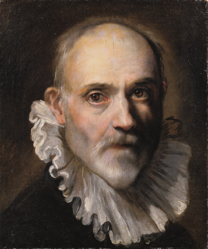 Federico Barocci, Self-Portrait, around 1600, oil/canvas, 40 x 33.6 cm, inv. no. 312  © RGS/Ghezzi