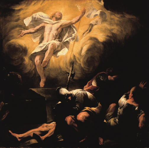 Luca Giordano, Resurrection, after 1665, oil/canvas, 114 x 116 cm, inv. no. 285  © RGS/Ghezzi