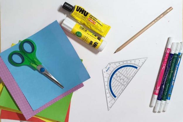 Schritt 1: Bereite deine Materialien vor.