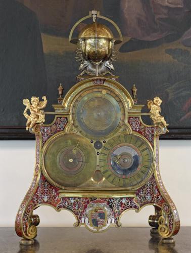 Fürsterzbischof Leopold Anton Firmian war Auftraggeber der Weltuhr, die in der Schönen Galerie bewundert werden kann