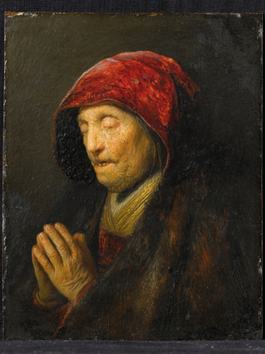 Harmensz. van Rijn Rembrandt, Betende alte Frau © RGS/Ghezzi