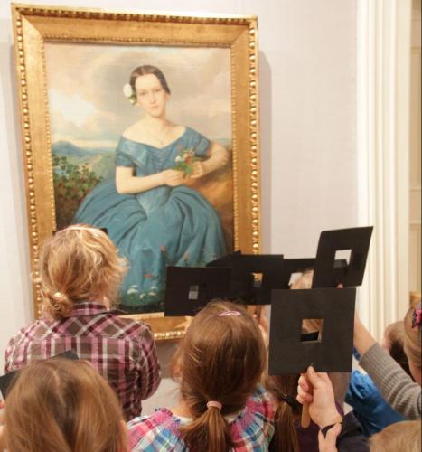 Inspiration wird aus den Gemälden der Residenzgalerie gewonnen