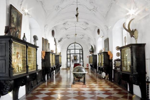 Kunst- und Wunderkammer im sogenannten südlichen Dombogen