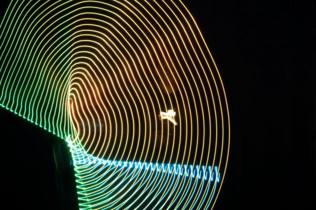 Lightpainting, Fotostation mit Langzeitbelichtung, Lange Nacht der Museen-121