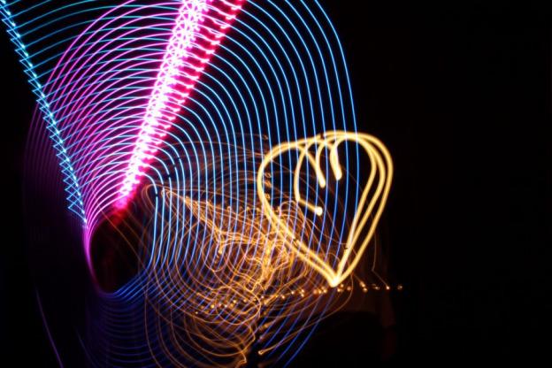 Lightpainting, Fotostation mit Langzeitbelichtung, Lange Nacht der Museen-133