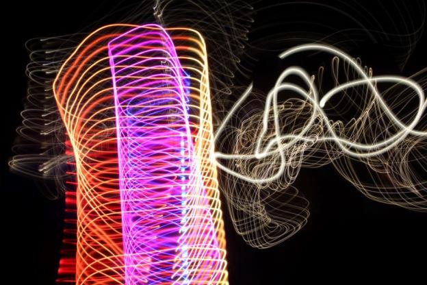 Lightpainting, Fotostation mit Langzeitbelichtung, Lange Nacht der Museen-224