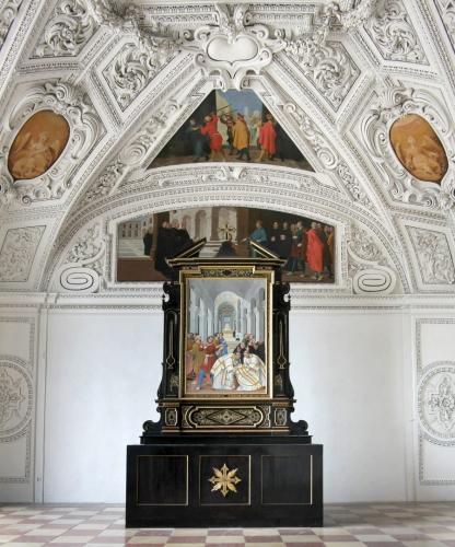 Rupertusoratorium, die einzige Kappelle im Dom (Nordoratorium)