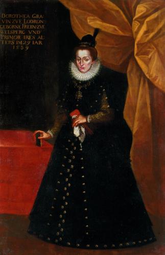 Dorothea Lodron geb. von Welsperg, 1589 (Mutter Paris Lodrons), Residenz  © Dommuseum Salzburg/J. Kral