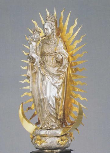 Madonna, Johannes Lencker, um 1620/1625, Dommuseum © Dommuseum Salzburg/J. Kral