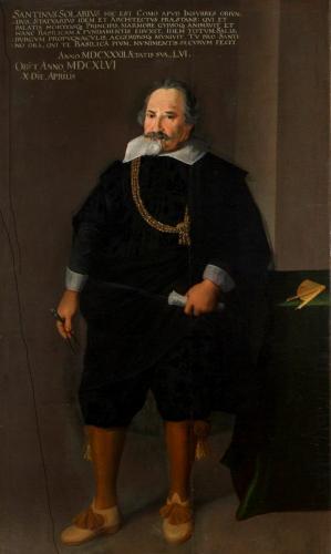 Santino Solari, 1632, Dommuseum  © Dommuseum Salzburg/J. Kral