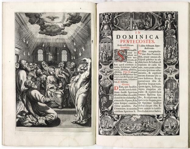 Missale Romanum, Salzburg 1671, Druck, Kupferstich, Diözesanbibliothek Salzburg © Dommuseum/J. Kral