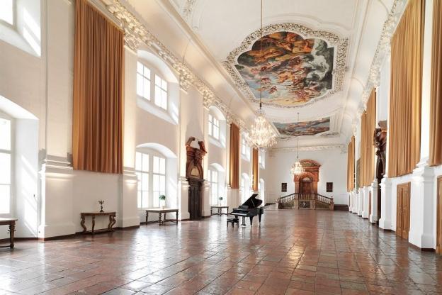 Monumentaler Repräsentationsraum für Zeremonien und Feste © SBSB