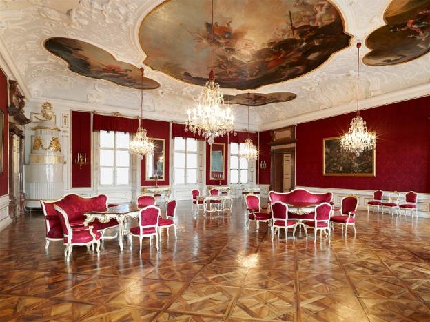 Besprechungszimmer  der hochfürstlichen Räte © SBSB