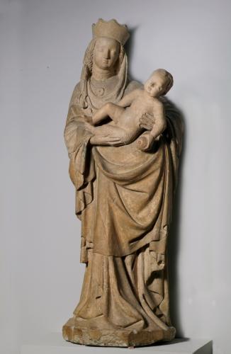 Salzburgisch, Radstädter Madonna, 1430-35, Dommuseum Salzburg, Inv.Nr. KAT 39 © Dommuseum Salzburg/J. Kral