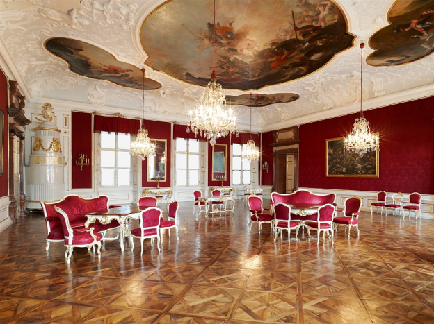 Meeting Room of the princely councillors © SBSB