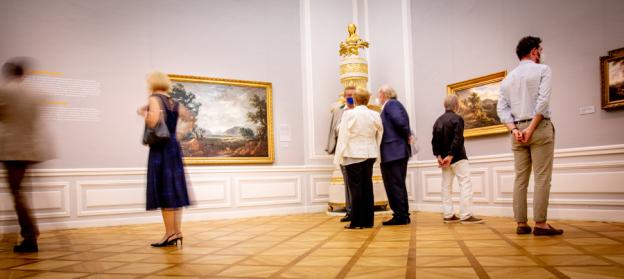 """Residenzgalerie Salzburg, Raum Ausstellung """"Natur wird Bild""""(c) wildbild"""