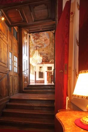 Blick in die Bildergalerie Prunkräume