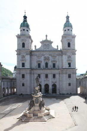 Blick aus dem Museuem St. Peter