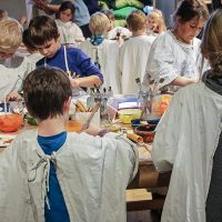 """Artikelbild zur Veranstaltung Familiensamstag """"Malen wie ein großer Meister"""""""