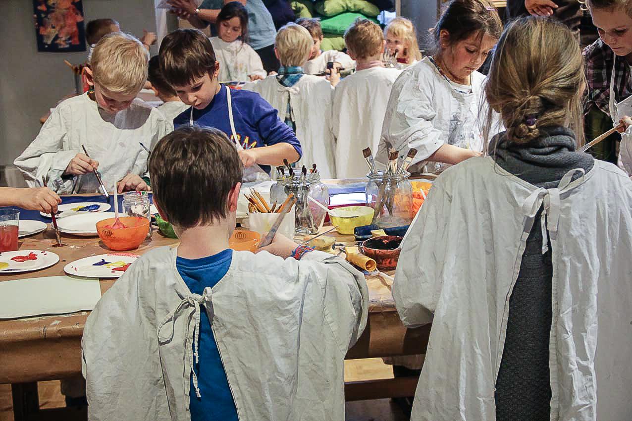 """Veranstaltung Familiensamstag """"Malen wie ein großer Meister"""" im DomQuartier Salzburg"""