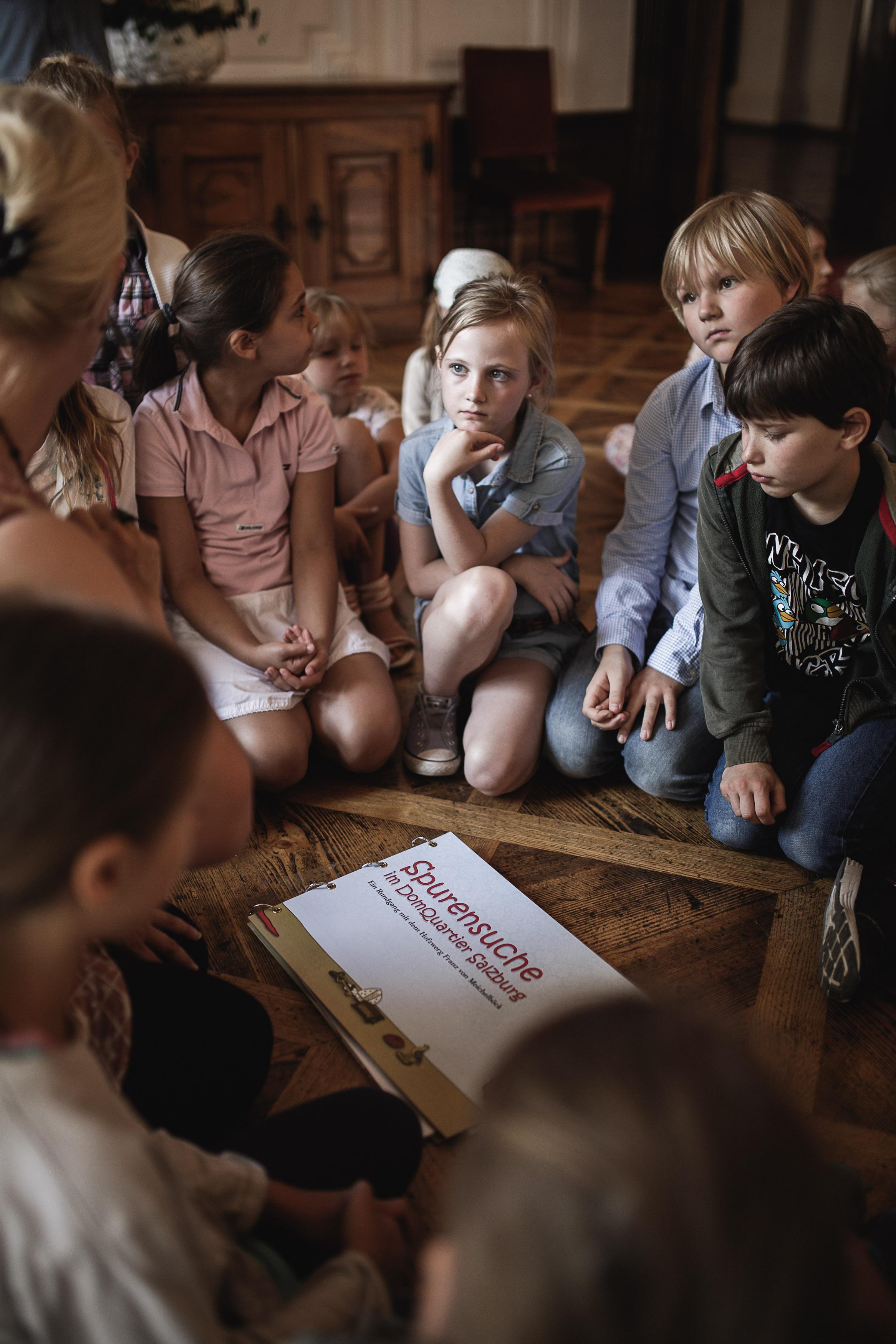 """Veranstaltung Kinderführung """"Spurensuche im DomQuartier"""" im DomQuartier Salzburg"""