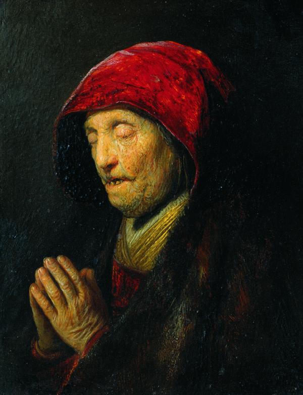 """Veranstaltung Die """"Betende alte Frau"""" ist online im DomQuartier Salzburg"""