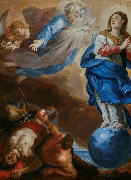 Johann Michael Rottmayr, Der Triumph der Immaculata, 1697
