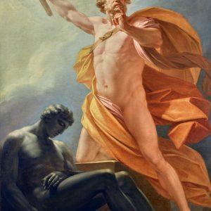 Heinrich Friedrich Fueger, Erschaffung des Menschen durch Prometheus, 1790