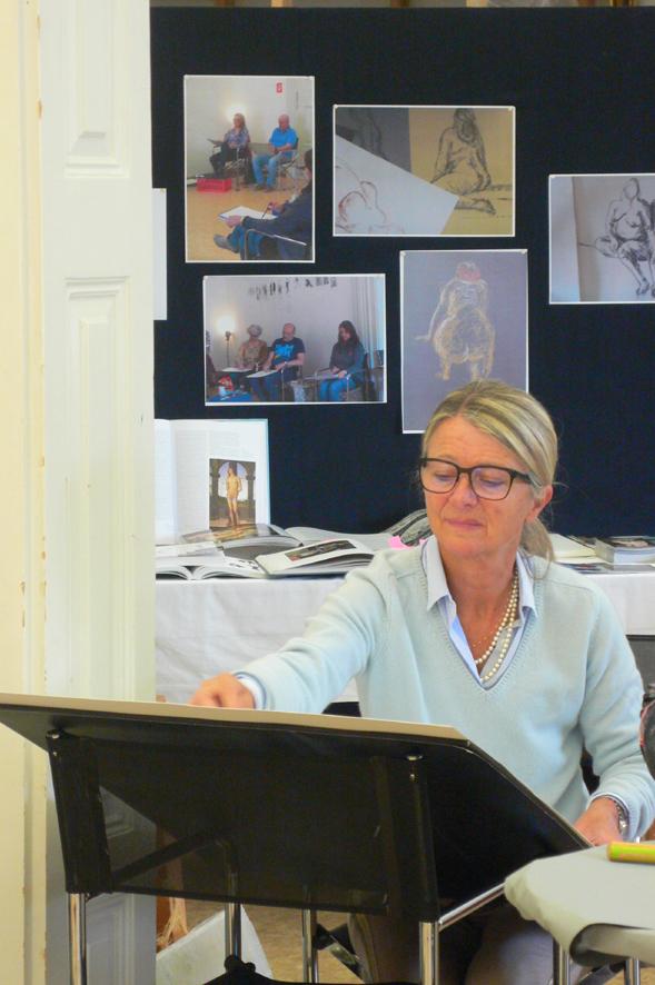 """Veranstaltung Workshop """"Barocke Kurven – Aktzeichnen im Museum"""" im DomQuartier Salzburg"""