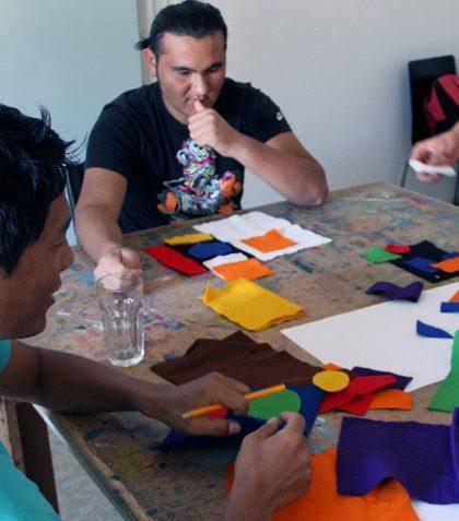 Asylwerber beschäftigen sich auf kreativer Ebene mit der Salzburger Kultur