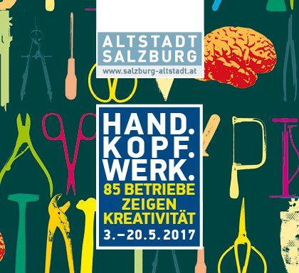 Titelsujet Kopf.Hand.Werk 2017