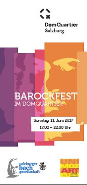 Veranstaltung Barockfest im DomQuartier Salzburg im DomQuartier Salzburg