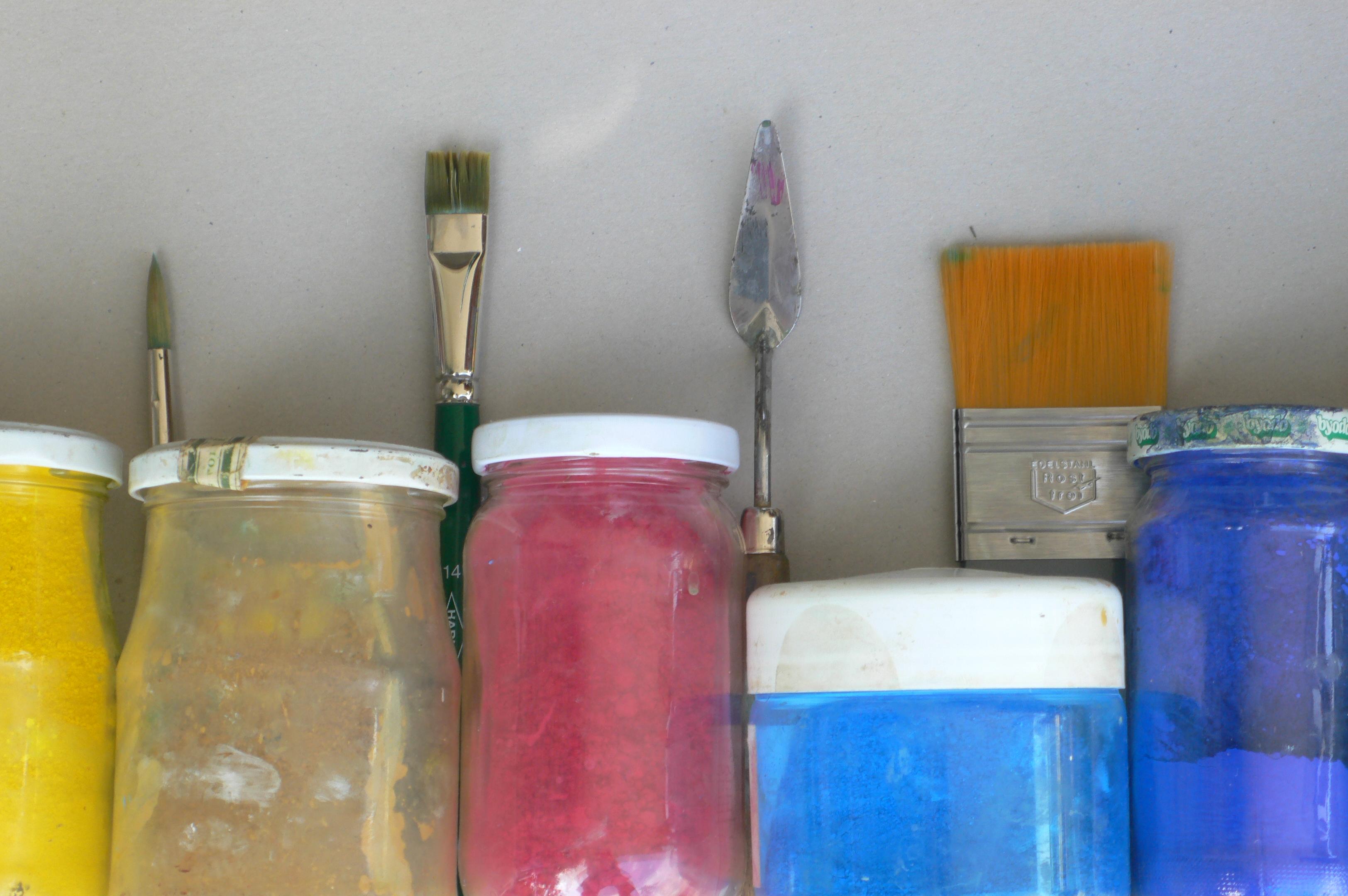 """Veranstaltung Workshop """"Malen im Museum – Mit allen Farben gewaschen"""" für Erwachsene im DomQuartier Salzburg"""
