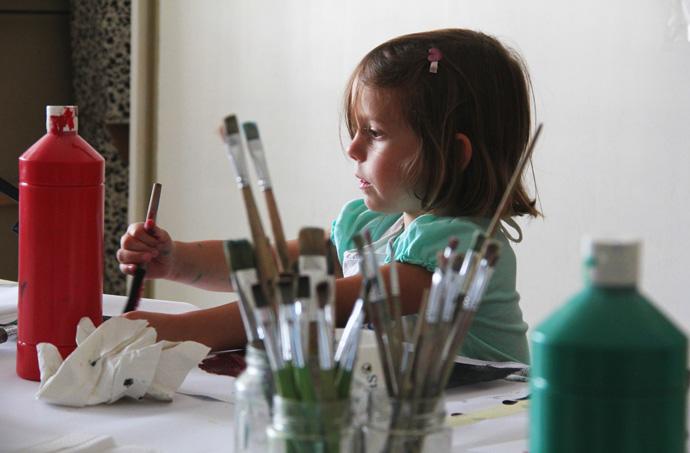 """Veranstaltung Kreativ-Kids-Club: """"Malen wie die alten Meister"""" im DomQuartier Salzburg"""