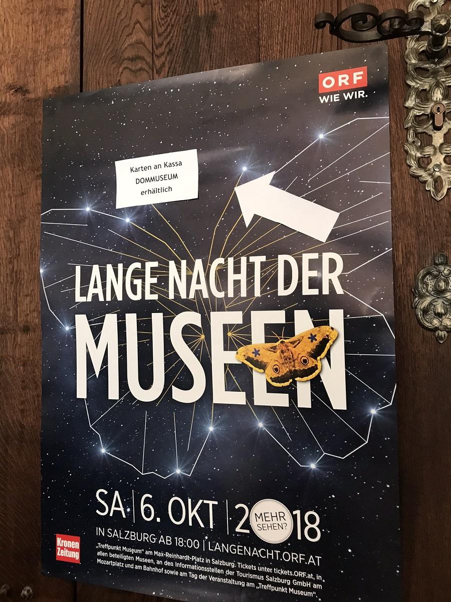 Veranstaltung Das war die ORF Lange Nacht der Museen 2018 im DomQuartier Salzburg